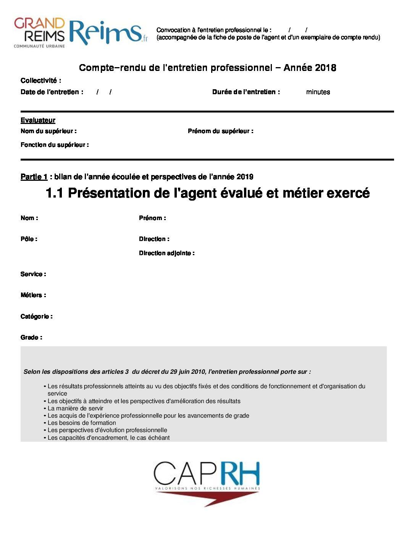 Entretien Annuel D Evaluation 2018 Le Formulaire De Crep Ufict